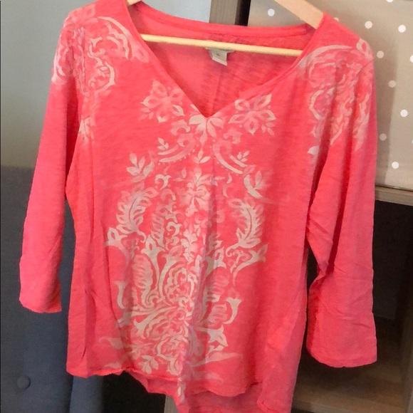 Lucky Brand Tops - 3/4 length top from Lucky Brand
